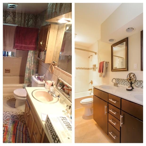 Pamela Way Bathroom Before & After