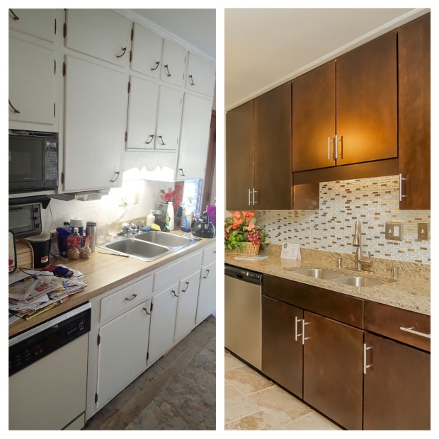 Pamela Way Kitchen Before & After